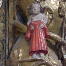 Notre-Dame de l'Assomtion de Bramans : angelot.