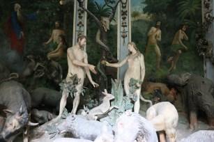 Sacro Monte de Varallo : Adam & Eve au Paradis.