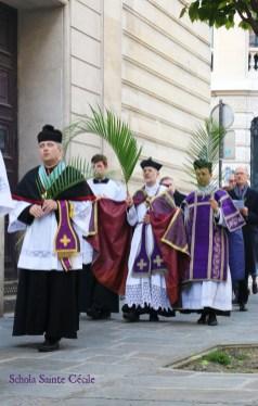 Dimanche des Rameaux - procession des Rameaux
