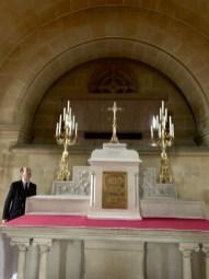 Farnborough Abbey : la crypte