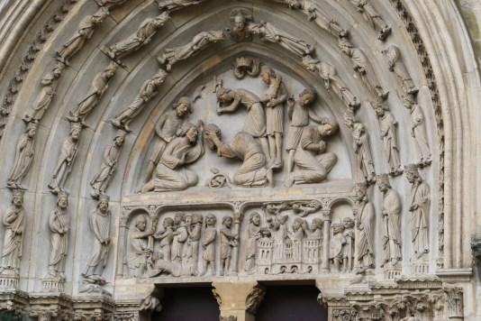 Basilique de Saint-Denis : le portail royal