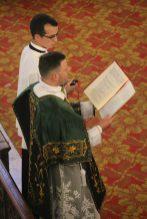 Première messe de M. l'Abbé Guillaume, fssp : Chant de l'épître par le sous-diacre