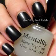 mentality nail polish matte top