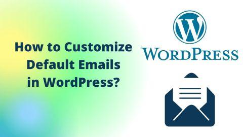 Emails in WordPress