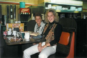 Rebecca Ranson at Waffle House, no date.