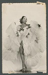 "Postcard of Josephine Baker titled ""Annabaoca."""