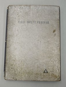 "Walter Brown's 1940s era scrapbook, which measures approximately 16x21""."