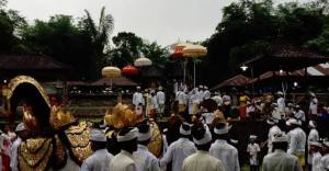 Balinese dance ceremony. <br />Courtesy of Ryan Sutherland.