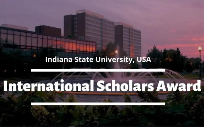 Image result for International Scholars Award at Indiana State University, USA
