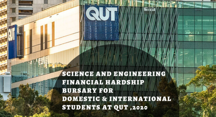 Image result for Science and Engineering Financial Hardship Bursary for Domestic & International Students at QUT, 2020