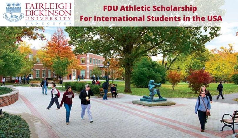 Image result for Athletic Scholarship for International Students at Fairleigh Dickinson University in Canada 2020