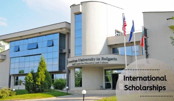 Image result for international awards at American University in Bulgaria, 2020