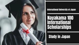 Nayakama 100 international awards at International University of Japan