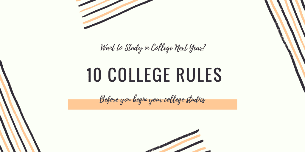 College Rules 10 College Rule For Students To Read Before Admission ScholarshipFellow