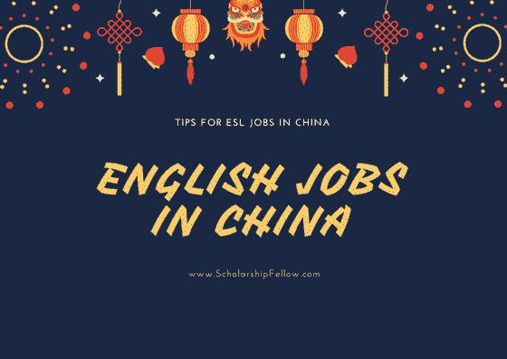 ESL English Teaching Jobs in China