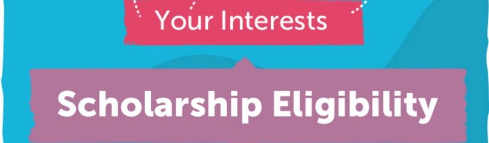 scholarship requirements banner
