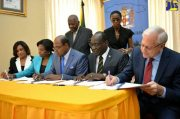 Government inks deal for hospitality school