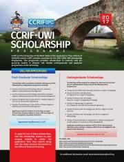 CCRIF SPC-UWI Undergraduate Scholarships