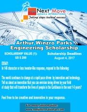 Arthur Winzro Parks Engineering Scholarship