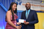 GSAT Students Receive Bursaries From JTA Credit Union