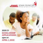 2020 Joan Duncan Foundation Scholarships