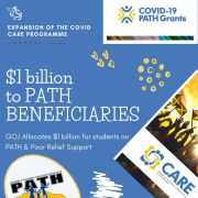 Gov't Allocates $1 billion for Students on PATH, Poor Relief Support