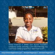 Shelice Anderson - Determined to Win Through The Struggles of University and COVID-19
