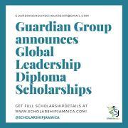 Guardian Group announces Global Leadership Diploma Scholarships