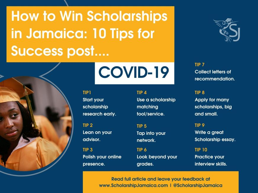 How to Win Scholarships in Jamaica Post COVID-19