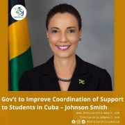 Gov't to Improve Coordination of Support to Students in Cuba – Johnson Smith