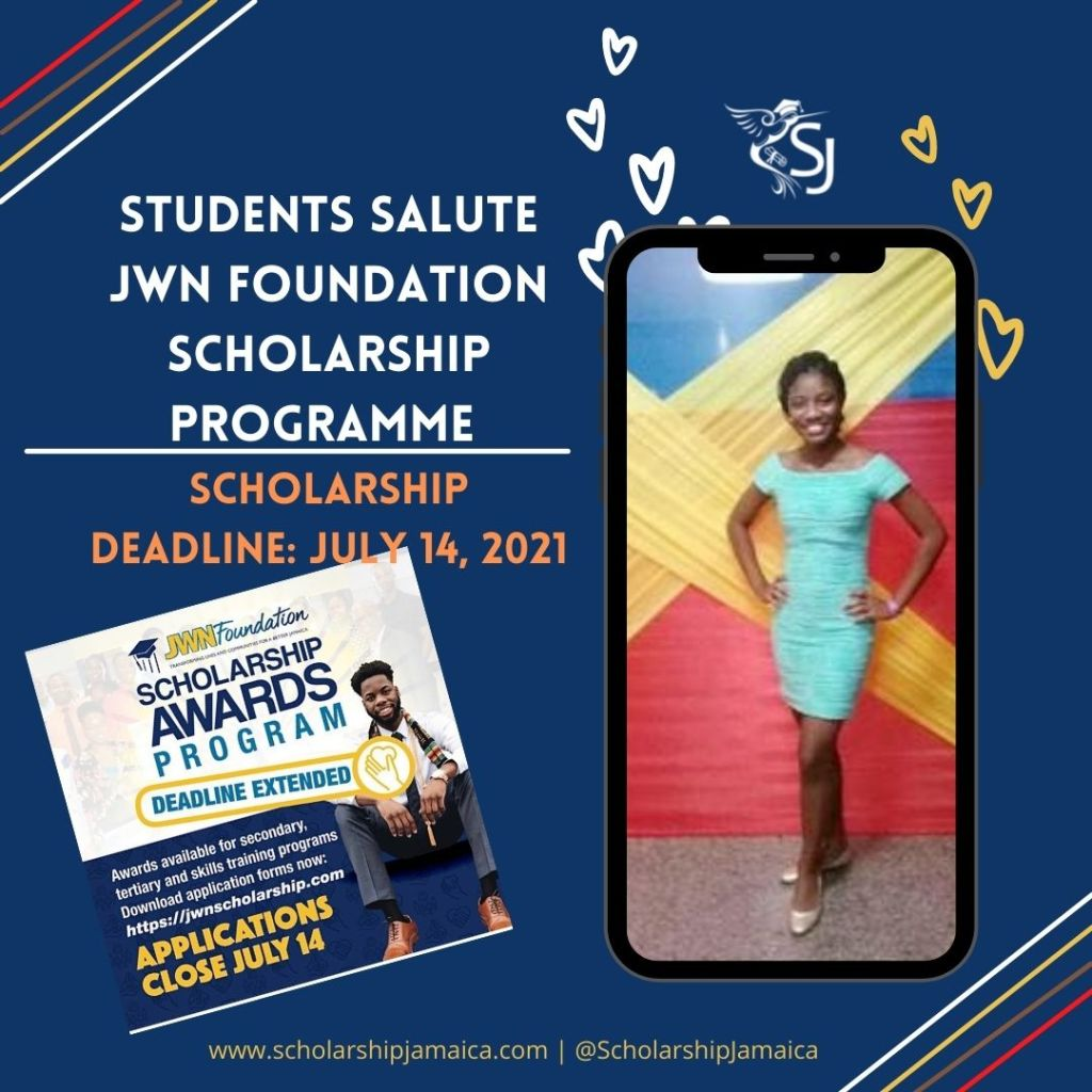 Final-year university students Javelle Stewart and Romario Blackwood say that had it not been for the J. Wray and Nephew (JWN) Foundation scholarships, they would have encountered difficulties pursuing their educational dreams.
