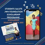 Students salute JWN Foundation scholarship Programme