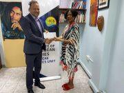 Diaspora Presents Reggae Scholarship to UWI's Institute of Caribbean Studies