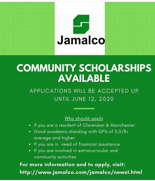 Jamalco awarded J$12m in scholarships, bursaries & assistance to approximately 200 students in Clarendon & Manchester, to assist back-to-school cost