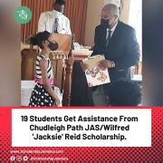 19 Students Get Assistance From Chudleigh Path JAS/Wilfred 'Jacksie' Reid Scholarship