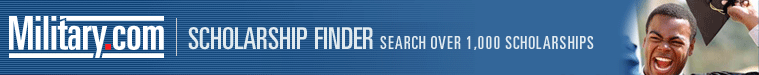 Military Scholarships Finder