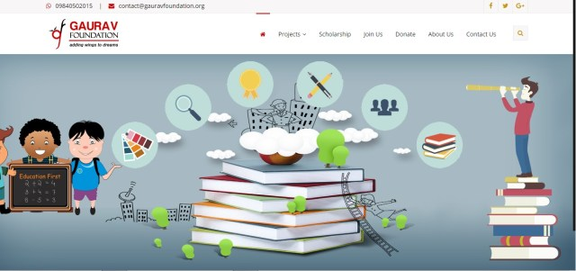 Gaurav Foundation scholarship is an excellent scholarship for students who are citizens of India to study in India and abroad