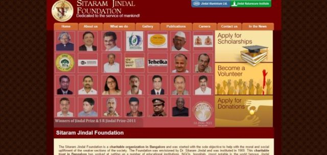 The Sitaram Jindal Scholarships Foundation is an independent foundation and has no political, religious or commercial affiliation of any kind to any party or community. Its sole purpose is to serve humanity irrespective of caste, creed, color or religion. It never any financial help from government or any other organisation.