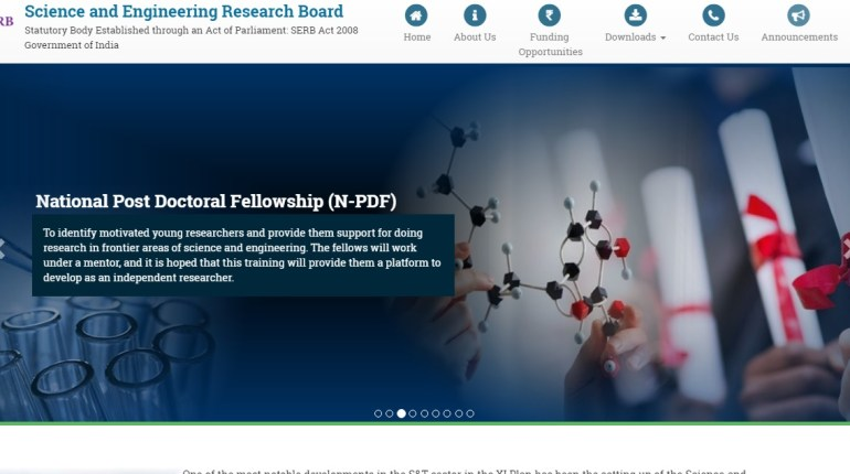 The SERB National Post Doctoral Fellowship ( NPDF) is basically aimed at identifying motivated young researchers and to provide them with support for doing research in leading fields of science and engineering.