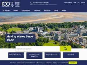 International Excellence Scholarships at Swansea University in UK, 2020 for Master, Bachelor