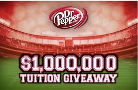 Dr. Pepper Tuition Giveaway