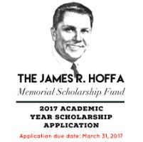 James R. Hoffa Memorial Scholarship