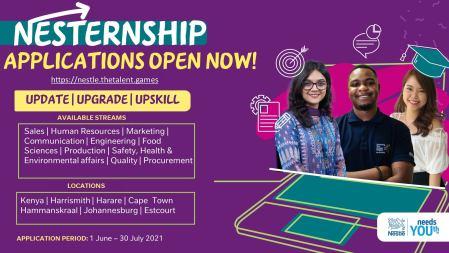 Nestlé ESAR Internship for Young Africans