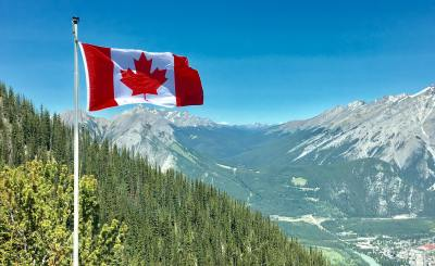 Canadian flag - Opportunities for Africans and International Graduates