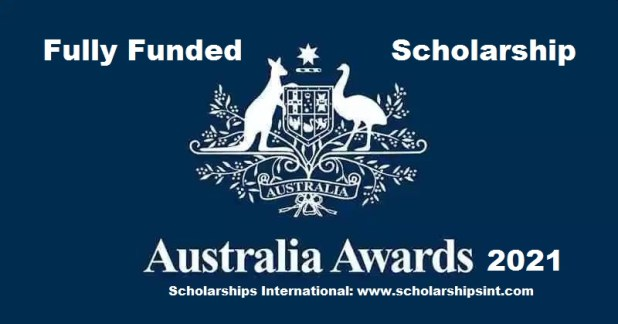 Fully Funded Australian Government Scholarship 2021