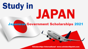 Japanese Government Scholarships STUDY IN JAPAN