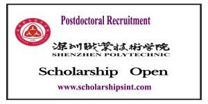 Shenzhen Polytechnic Postdoctoral Fellowship