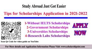 Tips for Applying Scholarships in 2021-2022