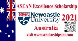 Asean Scholarship at Newcastle University 2021