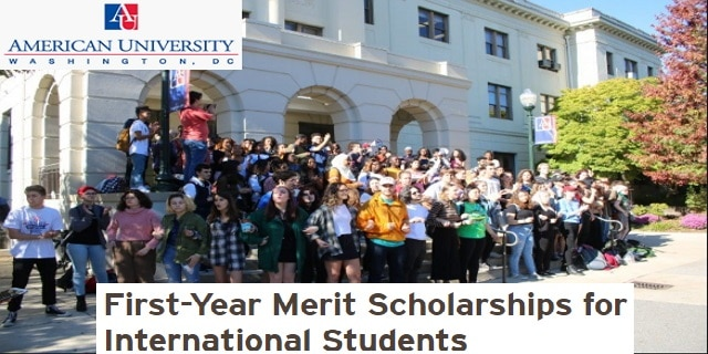 first-year-merit-scholarships-for-international-students-at-american-university